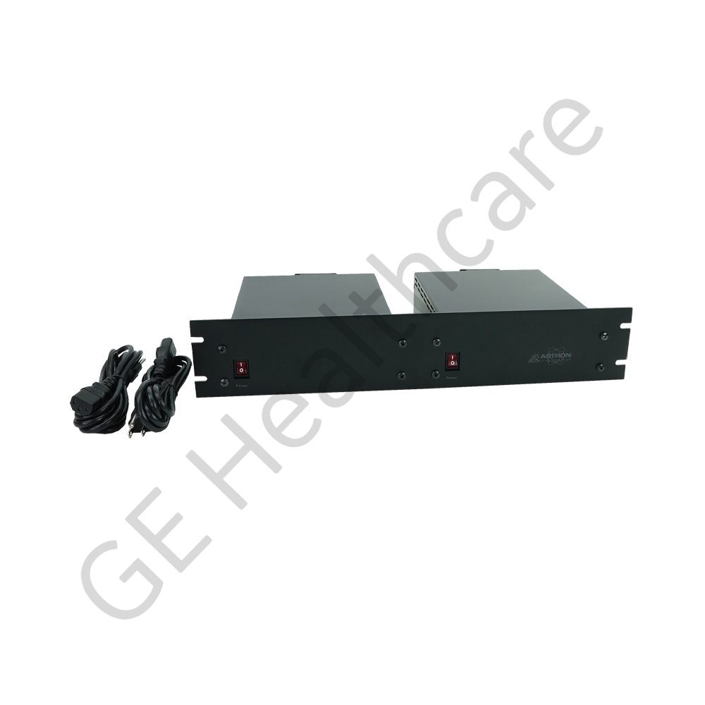 PWR SPLY DUAL RACK MNT 20A SELECT OUT V