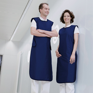 Ergonomic apron - Model 650 - S/M/L/XL, Length = 110cm, Navy (Ocean), 0.50mm Pb Equivalent
