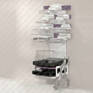 Senographe Pristina Accessories Storage Wall Stand
