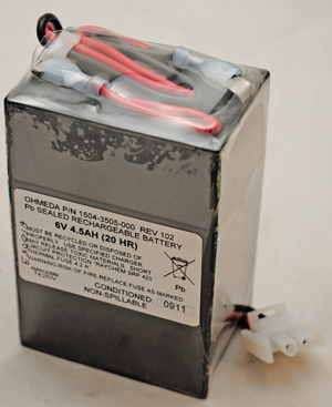 Battery 6V 4AH Sealed Lead Acid - Rechargeable