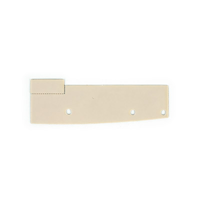 Power Supply Insulator Plate F-FM, Sheet Metal