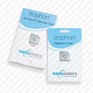 Trophon2 Acutrace operator cards box of 10