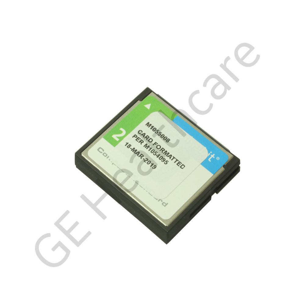 Compact Flash Card Formatted Assembly M1055008